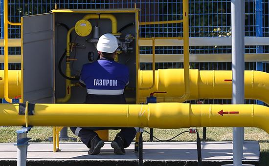 """INNOPOLIS, RUSSIA. AUGUST 27, 2015. An automatic gas distribution station of the 1st stage of the Gazprom's Yelizavetino gas pipeline branch project (Kazan ñ Gorky gas pipeline), that will provide gas supply to Innopolis. Yegor Aleyev/TASS –ÓÒÒˡ. »ÌÌÓÔÓÎËÒ. 27 ‡'""""ÛÒÚ‡ 2015. Õ‡ ‡'ÚÓχÚ˘ÂÒÍÓÈ """"‡ÁÓ‡ÒÔ‰ÂÎËÚÂθÌÓÈ Òڇ̈ËË (¿√–—) ÔÂ'Ó""""Ó ˝Ú‡Ô‡ ÔÓÂÍÚ‡ """"√‡ÁÓÔÓ'Ó‰ - ÓÚ‰'Ó‰ ‰Ó Ì.Ô. ≈ÎËÁ‡'ÂÚËÌÓ"""" (χ""""ËÒÚ‡Î¸ÌÓ""""Ó """"‡ÁÓÔÓ'Ó‰‡ """"‡Á‡Ì¸-√Ó¸ÍËÈ""""), ÍÓÚÓ˚È Ó·ÂÒÔ˜ËÚ """"‡ÁÓÒ̇·ÊÂÌËIT-""""ÓÓ‰‡ """"»ÌÌÓÔÓÎËÒ"""". ≈""""Ó ¿ÎÂÂ'/""""¿——"""