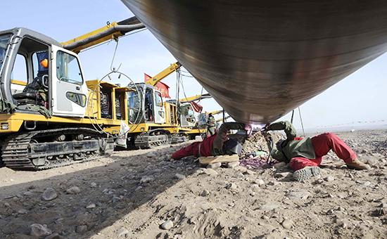 China Turkmenistan Gas Pipeline