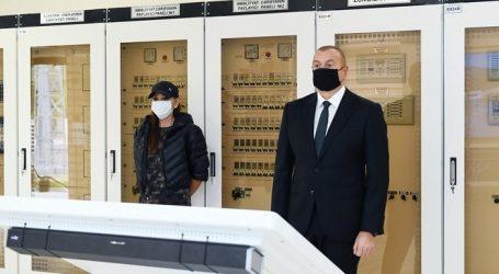 Президент Ильхам Алиев и Первая леди Мехрибан Алиева приняли участие в открытии подстанции «Зангилан» — ФОТО