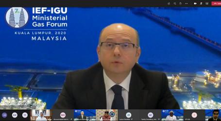 Azərbaycanın energetika naziri 7-ci Beynəlxalq Enerji Forumu – Beynəlxalq Qaz İttifaqı Nazirlərinin Qaz Forumunda iştirak edib