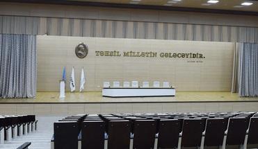 İlham Əliyev Bakı Ali Neft Məktəbinin kampusunun açılışında