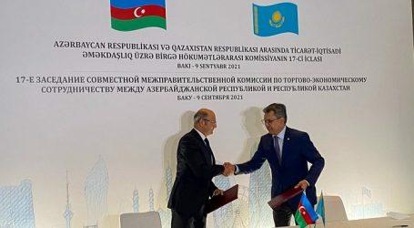 Azərbaycan-Qazaxıstan Hökumətlərarası Komissiyanın 17-ci iclası keçirilib