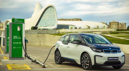Компания Improtex Motors впервые представила электромобиль BMW i3