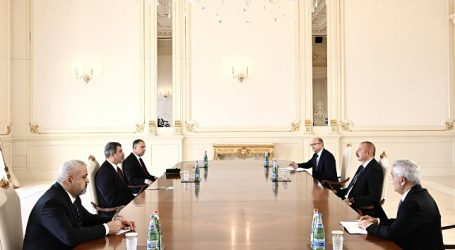 Ilham Aliyev received Iraqi oil minister