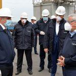 SOCAR-ın prezidenti Neft Daşlarında istehsalat sahələrinə baxış keçirib