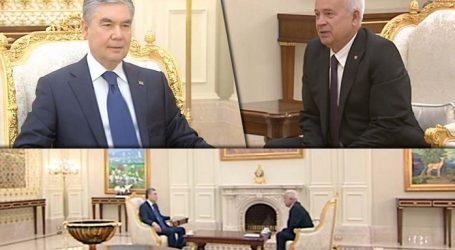 Президент Туркмении обсудил с главой ЛУКОЙЛа реализацию проектов на Каспии