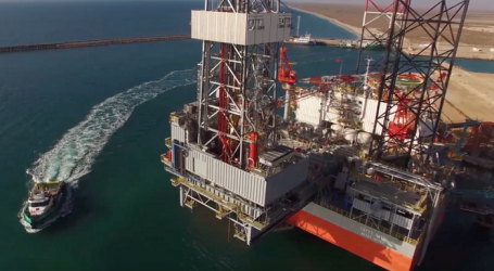 KMG on drilling works carried out by Kazakhstan's jack-up rig in Azerbaijani sector of Caspian Sea