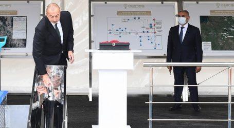 Ильхам Алиев заложил фундамент Цифровой подстанции в Зангиланском районе