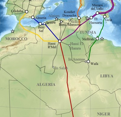 Algeria_pipelines_map