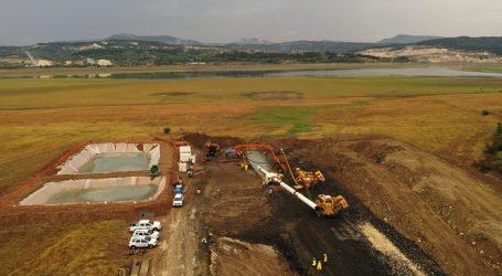 The IGB pipeline successfully crossed Studen Kladenets dam