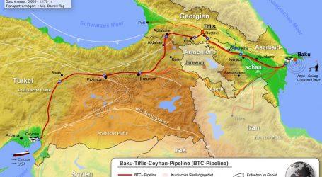По Баку-Джейхан в 2020г транспортировано около 1 млн тонн российской нефти