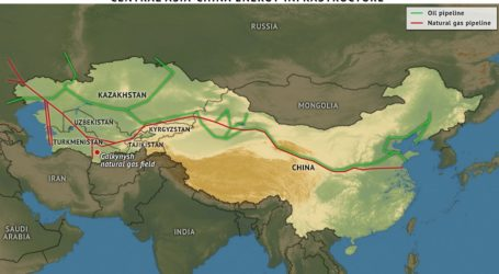 Central Asia Delivers 23 Bcm of Gas to China