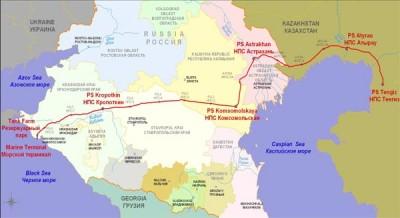 Apreldə  CPC terminalından xam neftin ixracı yanlız 0,5% artıb