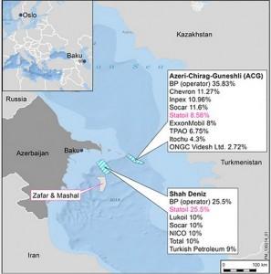 Caspian acreage