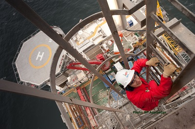 DWG Platform, Caspian Sea, Photo: Stuart Conway/ BP