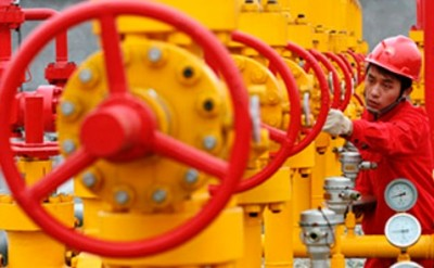 Turkmen gas was pumped into China's underground storage facilities
