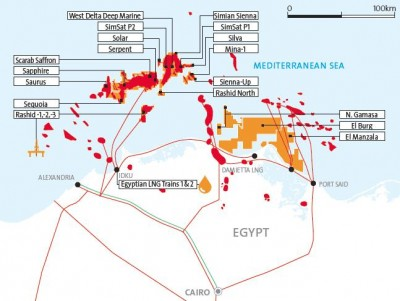 By 2020 Egypt is going to start export of its own gas
