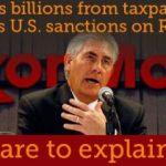 Exxon пытается уйти от санкций?