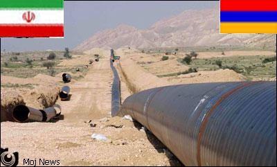 Iran-Armenia-gas-pipeline