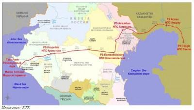 2014-cü ildə CPC terminalından nəql edilən neftin həcmi 40 milyon tona çatıb