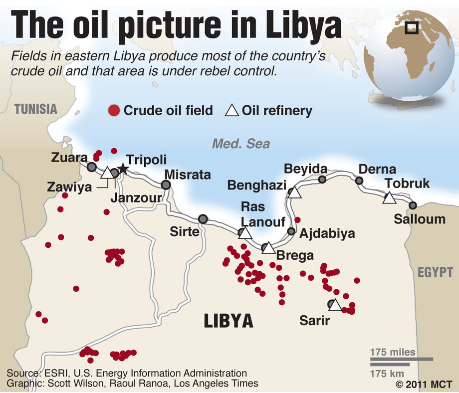 Eni returned to the pre-war level of extraction in Libya – Caspian