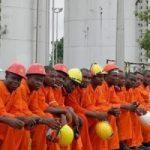Oilmen went on strike in Nigeria