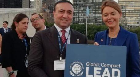 SOCAR AQŞ BMT-nin Qlobal Sazişi üzrə lider elan olunmuş ilk Azərbaycan şirkətidir