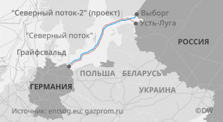«Нафтогаз» обсуждает с США блокировку «Северного потока-2»
