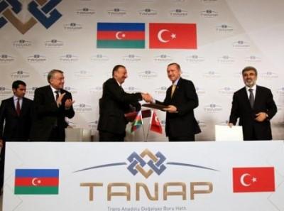 TANAP-imzalanma