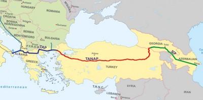SOCAR: Azərbaycan qazı Avropa bazarına 2019-cu ildə çatdırılacaq