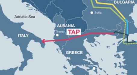 Албанский и итальянский участки TAP будут заполнены газом