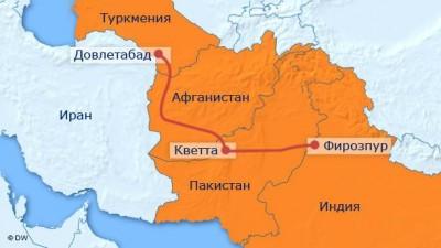 Rusiya TAPİ qaz kəməri layihəsində maraqlıdır