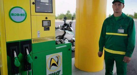 Türkmənistanın qazdan istehsal etdiyi benzin Özbəkistan birjasında satışa çıxarıldı