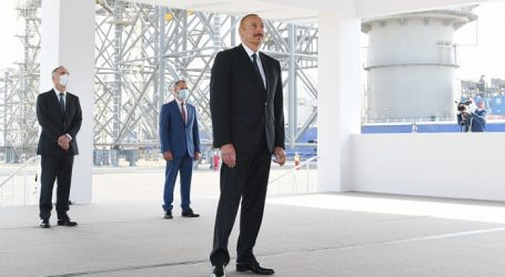 Ilham Aliyev: Gas from II Stage of Absheron Field Development to Go to Turkey, Possibly Europe