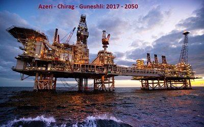 Добыча нефти на блоке АЧГ в 2017г сократилась на 7%