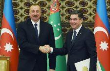Ильхам Алиев и Бердымухамедов договорились и по коридору