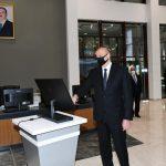 Президент Ильхам  Алиев запустил Азербайджанскую ТЭС после реконструкции