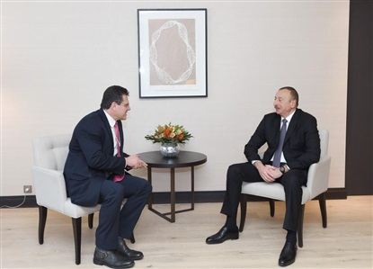 Shefcovic to Meet with Ilham Aliyev in Davos