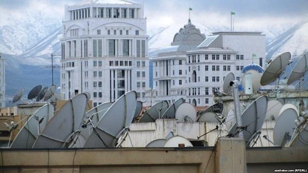 В Туркменистане прекратили продавать спутниковые антенны