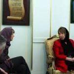 Ketrin Eşton Tehranda danışıqlar aparır