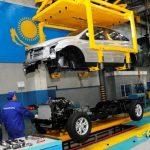2020-ci ildə Qazaxıstanın avtomobil sənayesi 53%-dən çox artıb