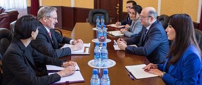 Azərbaycanla ABŞ arasında enerji sahəsində əlaqələrin inkişafı müzakirə olunub