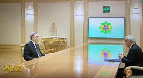 SOCAR-ın prezidenti Türkmənistanın dövlət başçısı ilə görüşüb