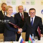 """""""AzMeCo"""" və """"Qazprom"""" arasında müqavilə imzalanıb"""