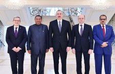 Prezident İlham Əliyev OPEC-in baş katibi ilə görüşüb