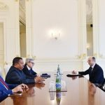 President of Azerbaijan receives head of OPEC