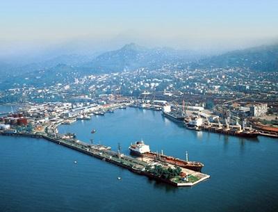 Batumi terminal registered transhipment record