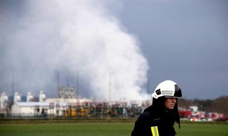 Установлена причина взрыва на газовом терминале в Баумгартене