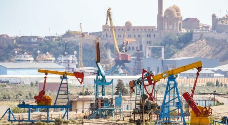 Azerbaijani oil price rises 23%