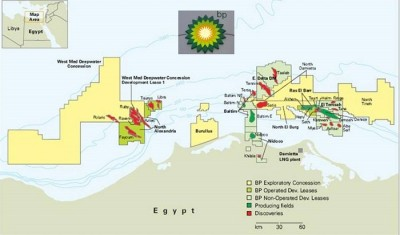BP remains ambitious on gas in Egypt, despite weak oil prices
